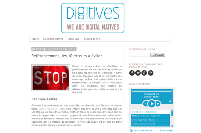 We Are Digital Natives
